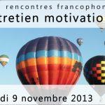 Rencontres francophones de l'entretien motivationnel 2013